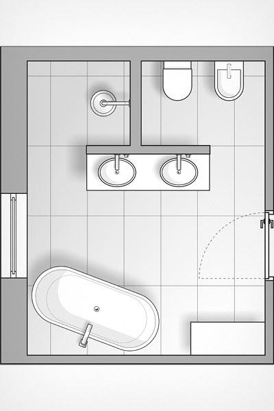 tapeten im bad stilvoll inszeniert meister der elemente. Black Bedroom Furniture Sets. Home Design Ideas